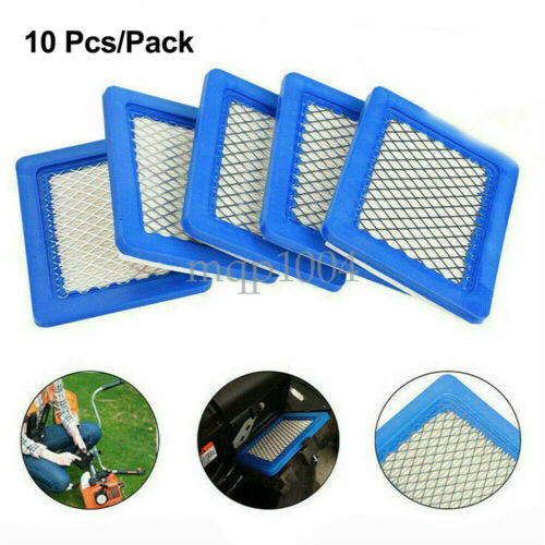 10x Air Filter Replacement For Briggs /&Stratton Lawn Mower 491588 491588S 399959