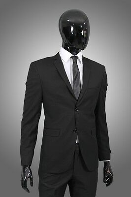 Herrenanzug in Schwarz - Anzug Hochzeit Business Sakko Smoking Suit Trendsetter