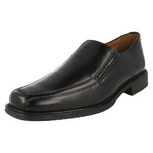 Cuero Zapatos Driggs Cordones Sin Negro Hombre Gratis Clarks Pq5UWU
