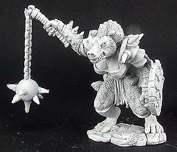 Krokuta Gnoll Cleric Reaper Miniatures 02955