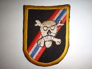 Vietnam-Guerra-Flash-US-46th-Forze-Speciali-Company-Teschio-Basco-Toppa