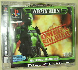 Army-MEN-OMEGA-SOLDIER-ps1-GAME-Sony-Playstation-PAL