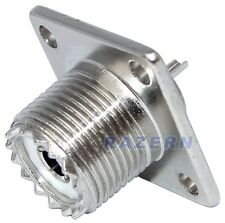 10 UHF female jack SO-239 panel chassis mount connector