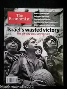THE-ECONOMIST-SIX-DAY-WAR-40-YEARS-ON-MAY-26-2007