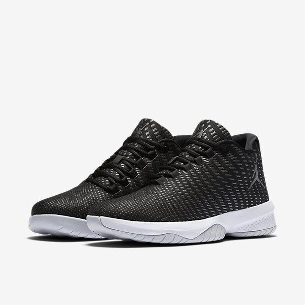 Air Jordan B.Fly Black/Grey-Platinum-White Sizes 8-12 NIB
