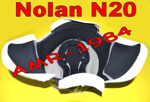 """INTERNO CLIMA COMFORT per CASCO  NOLAN N20 TRAFFIC E NAKED taglia /"""" L /""""  00318"""