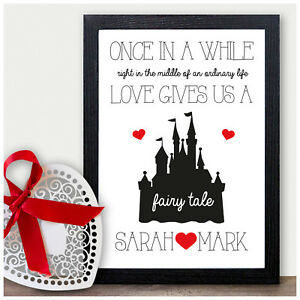 Image Is Loading Personalised Fairytale Birthday Gifts Presents Husband Boyfriend For