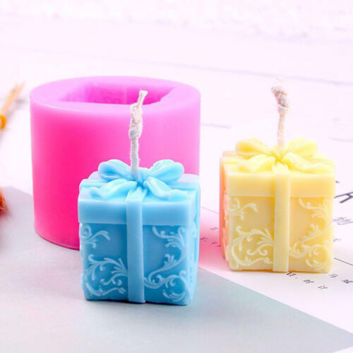 DIY 3D Honeycomb Merry Christmas Gift Silicone Cake Mold Candle Soap Mould Kit
