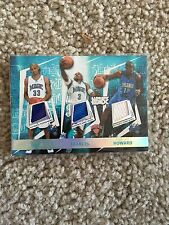 05-06 Topps Luxury Box Grant Hill Steve Francis Dwight Howard Jersey Card Magic