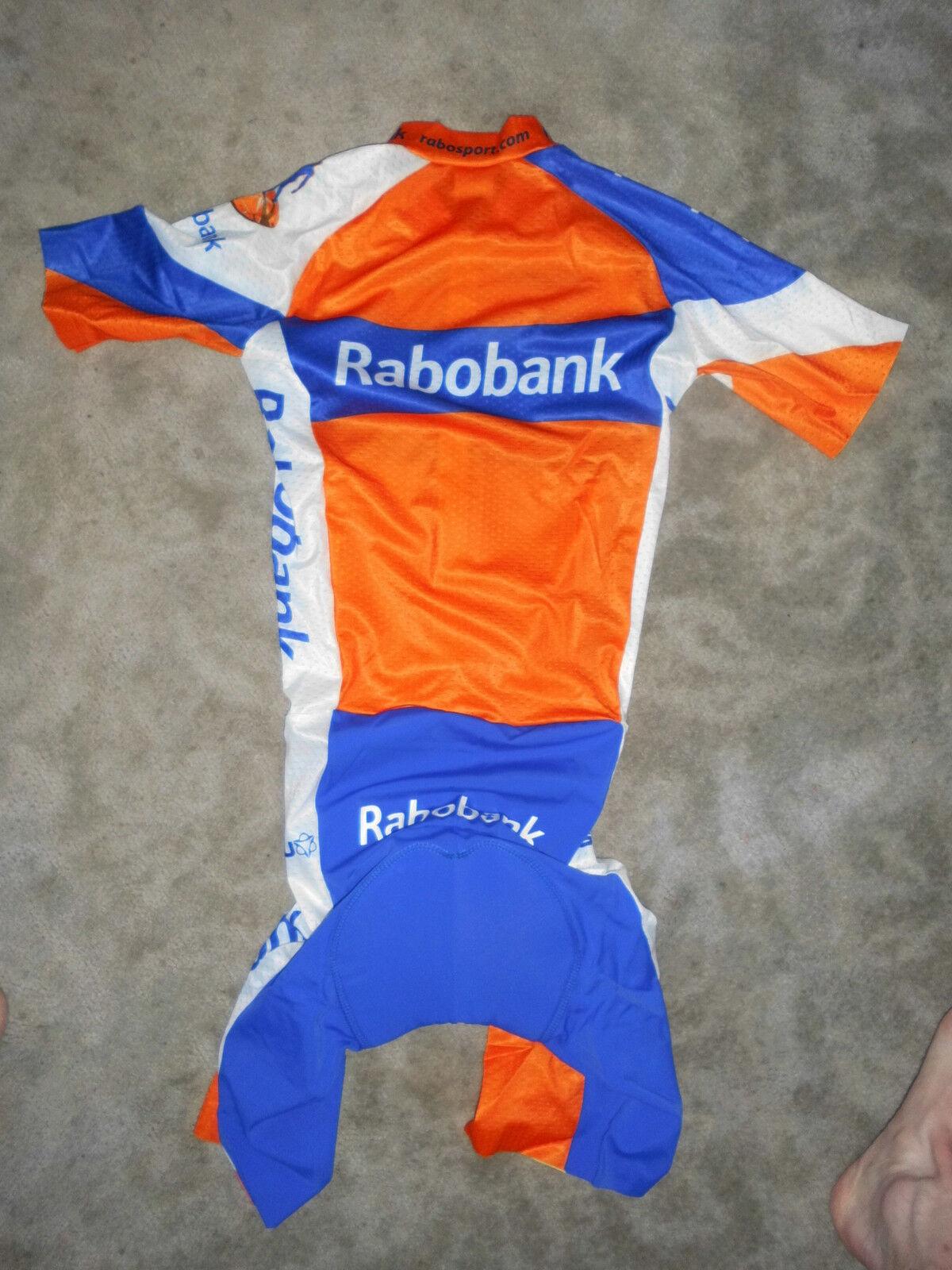 Rarität Agu Team Giant Rabobank Giant Team aero Mesh Skinsuit / Zeitfahranzug 09389b