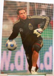 Fan Big Card Edition B627 Torwart Fußball Nationalspieler DFB Volkmar Groß