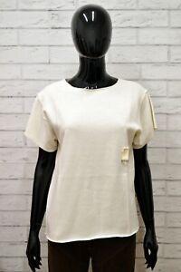 Maglia-MARIE-FRANCOISE-Donna-Taglia-XL-Maglietta-Shirt-Woman-Manica-Corta-Cotone
