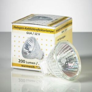 10 Stuck Halogen Lampe Gu4 Mr11 12v 20 W 30 Leuchtmittel