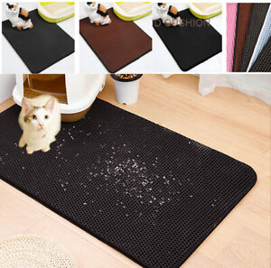 Premium-Paws-Pets-Cat-Litter-Boxes-Mat-Honeycomb-Double-Layer-Waterproof-Pet-Pad