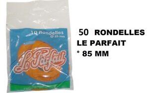 50-Rondelles-Joints-caoutchouc-bocaux-terrines-85-MM-LE-PARFAIT-0-5-1-2-L