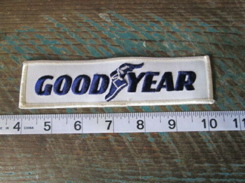OLD GOODYEAR TIRES RACING PATCH TIRE RUBBER COMPANY NASCAR SCCA CAN AM RACING