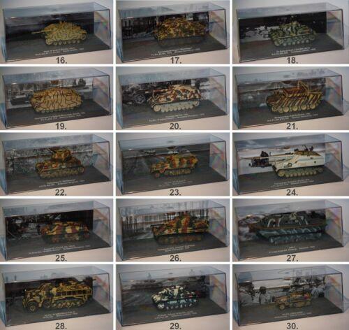 De Agostini-Die Panzer Sammlung-Kampfpanzer-Panzerwerfer-Flakpanzer-PC Vitrine