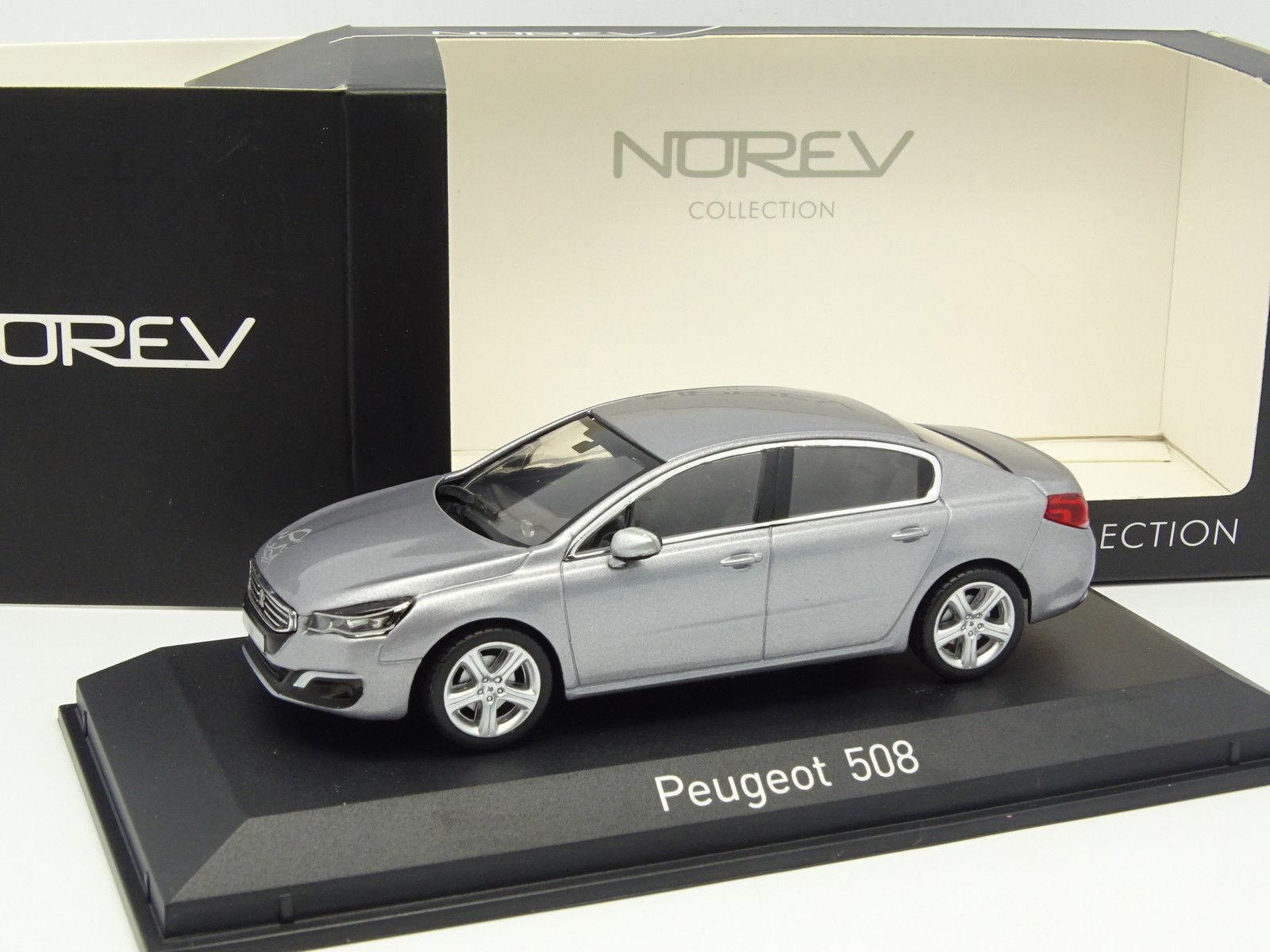 garanzia di qualità Norev 1 43 - - - Peugeot 508 Grigia  Sconto del 70%