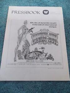 CLEOPATRA JONES AND THE CASINO OF GOLD(1975)STELLA STEVENS ORIGINAL PRESSBOOK