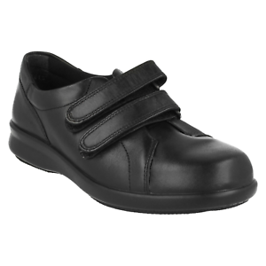 DB-Shoes-Naomi-Wide-Fitting-Chaussures-en-cuir-en-2E-4E-de-largeur-Noir