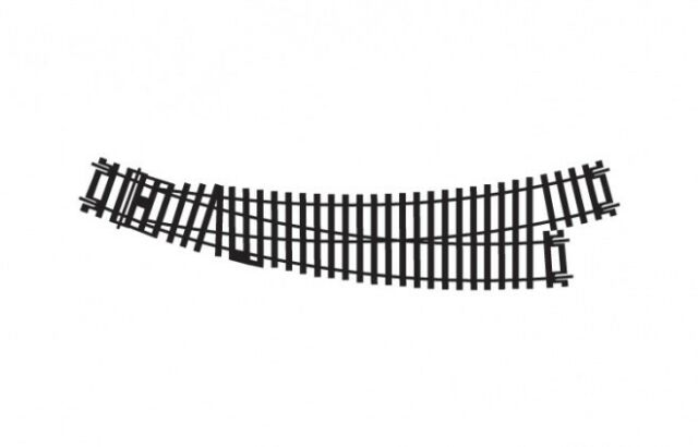Hornby R8074 Left Hand Curve Point Track - OO Gauge