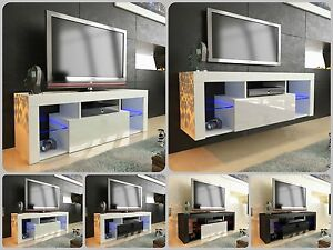 New-2017-superbe-meuble-tv-unite-armoire-130cm-flottant-permanent-gloss-led