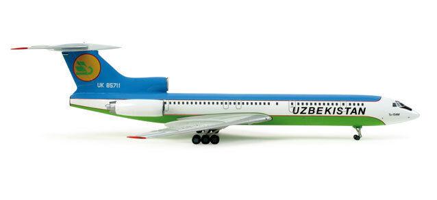 Uzbekistan Airways Tupolev TU-154M (UK-85711) 1 200 Herpa, selten