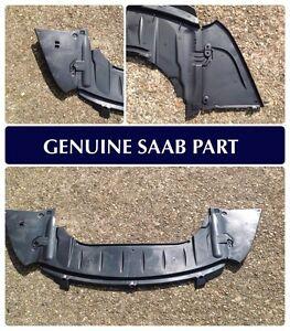 Saab 9-3 2004-2011 Front Bumper Air Genuine Splash Guard Skid Plate NEW 12824861