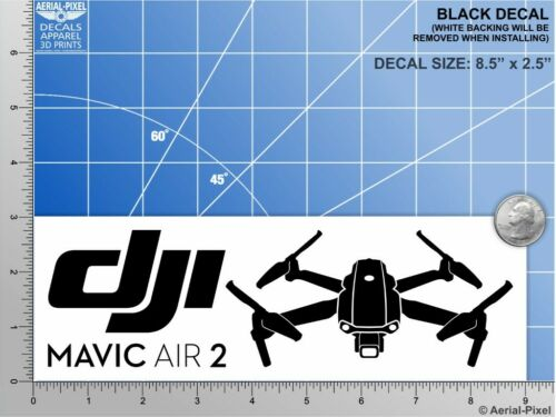 New DJI Mavic Air 2 Window Case Decal Drone Sticker