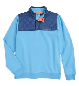Image is loading Vineyard-Vines-Boys-Performance -Quilted-Pullover-Shep-Shirt- caeb0605ff0a