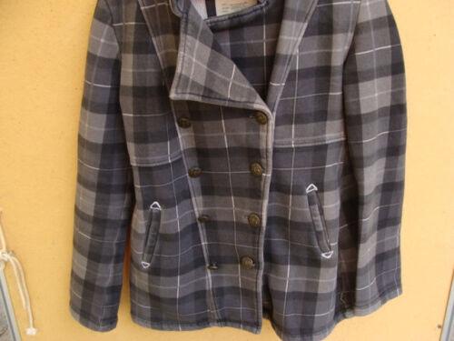 Small Jacket Cotton Coat Pea Blend Billabong S Taglia Plaid HBXqOxn8