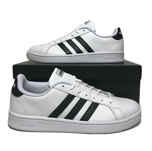 Adidas Mens Grand Court shoes Mens size 10.5 With Cloudfoam White ...