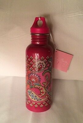NEW! Vera Bradley 25 oz. Water Bottle - Retired Pink Swirls