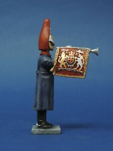 54mm-Metal-Toy-Soldier-Blues-and-Royals-Fanfare-Trumpeter-LMS29