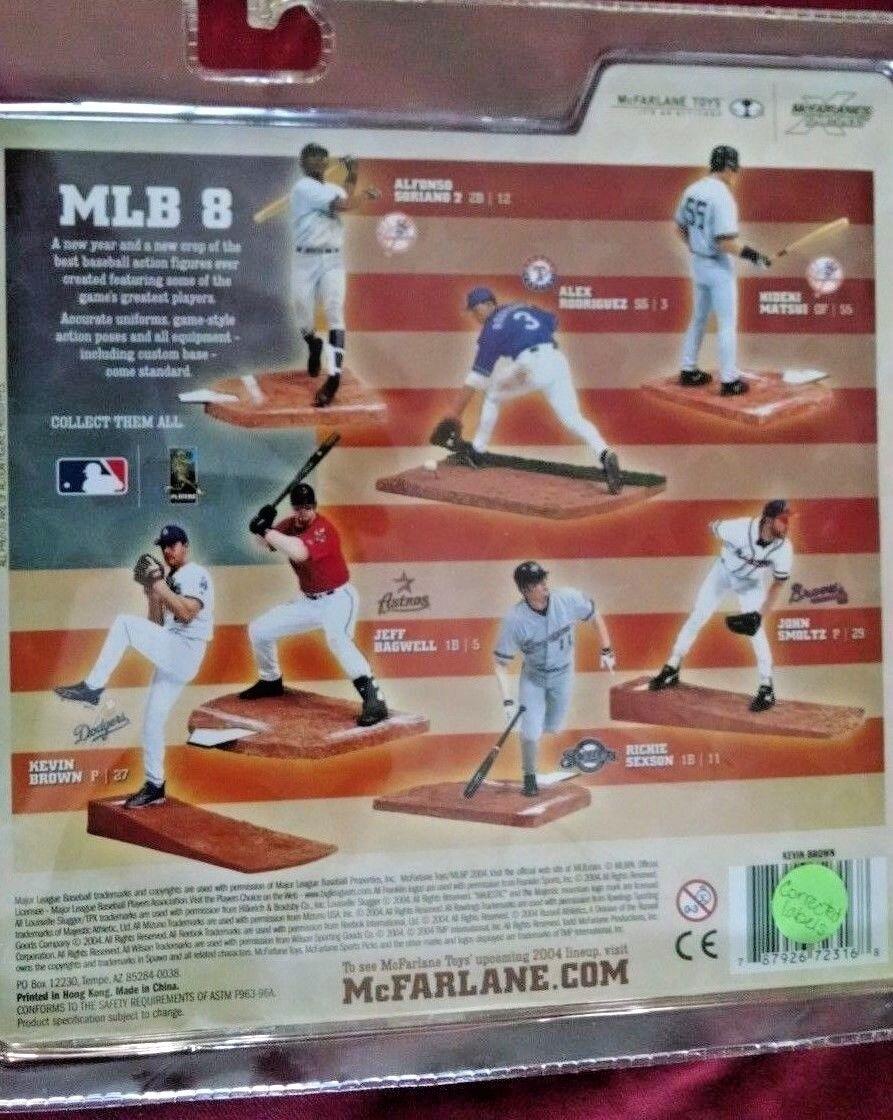 2004 McFarlane Baseball MLB Series 8 8 8 Kevin Brown Yankees Variant 4398cb