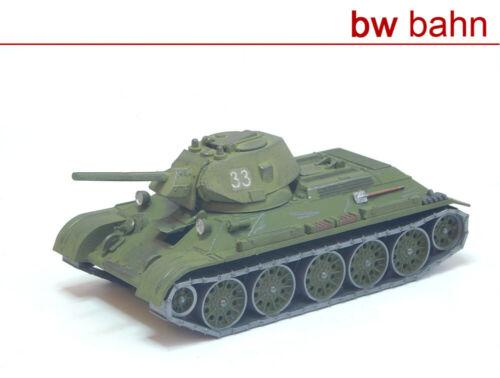 Roco Minitanks h0 1237 lucha-tanques t34 Stalingrado ejército rojo gesupert WWII nuevo