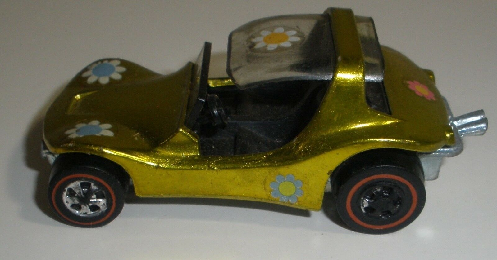 Hot Wheels redline Sand crab yellow nice condition