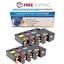 4 Color Toner Lot For Dell 1250 C1760NW C1765NF C1765NFW 1250C 1350cnw 1355cnw
