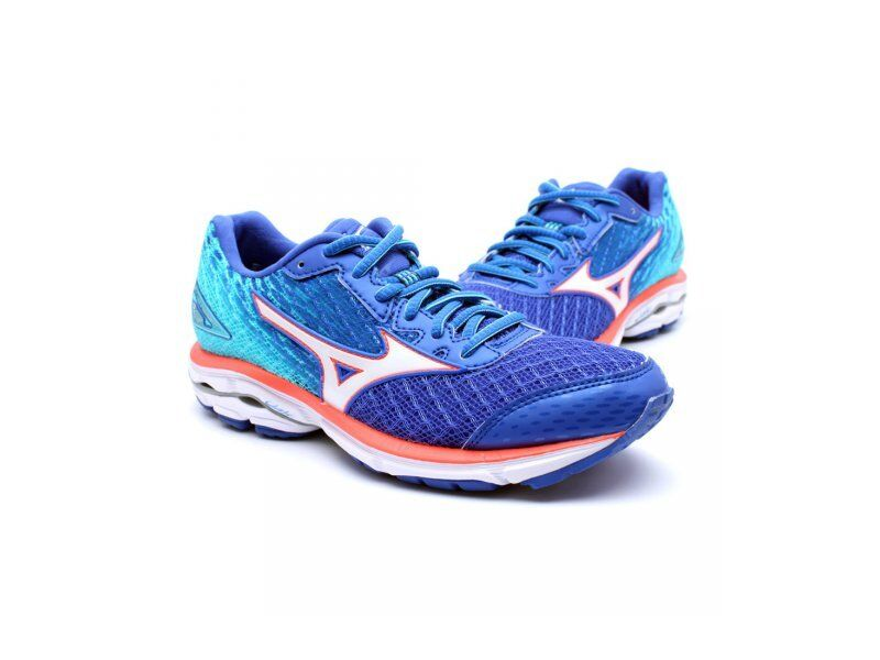 Bona Fide Mizuno Wave Rider 19 Donna Fit Crossrunning Shoes (B) (42)