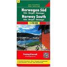 Norway South: FB.N01 by Freytag-Berndt (Sheet map, 2003)