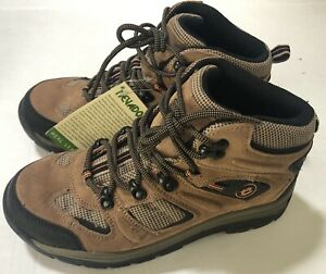 864637a067b Details about Nevados Men's Boys Sz 6.5 Suede Leather Brown Hiking Boot  Women Sz 8.5 New!
