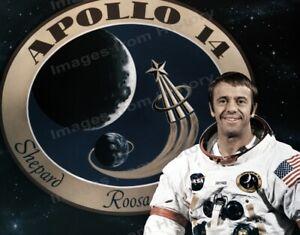 8x10 Print NASA Apollo 14 Alan B Shepard on Lunar Surface 1971 #AS1