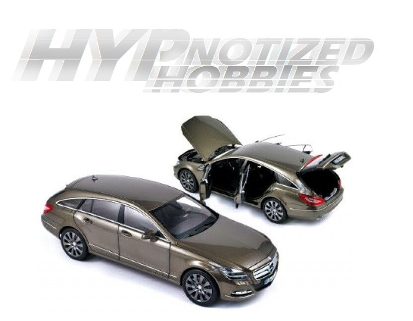 Norev 1 18 2012 Mercedes-Benz CLS 500 Shooting Brake DIE-CAST gris 183549