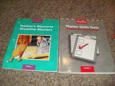 Houghton Mifflin Reading TEACHER S RESOURCE BLACKLINE MASTERS Skills Tests 1 EBay