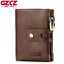 Men-Women-Genuine-Leather-Cowhide-Trifold-Wallet-Credit-Card-ID-Holder-Purse-New thumbnail 1