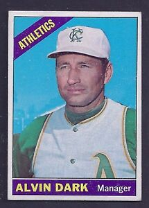 1966-Topps-433-Alvin-Dark-Kansas-City-Athletics-EX-to-EX-Plus