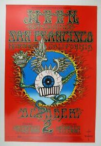 Emek-Ween-Poster-Flying-Eyeball-BG-105-OP-Rick-Griffin-Jimi-Hendrix-Tribute-AE