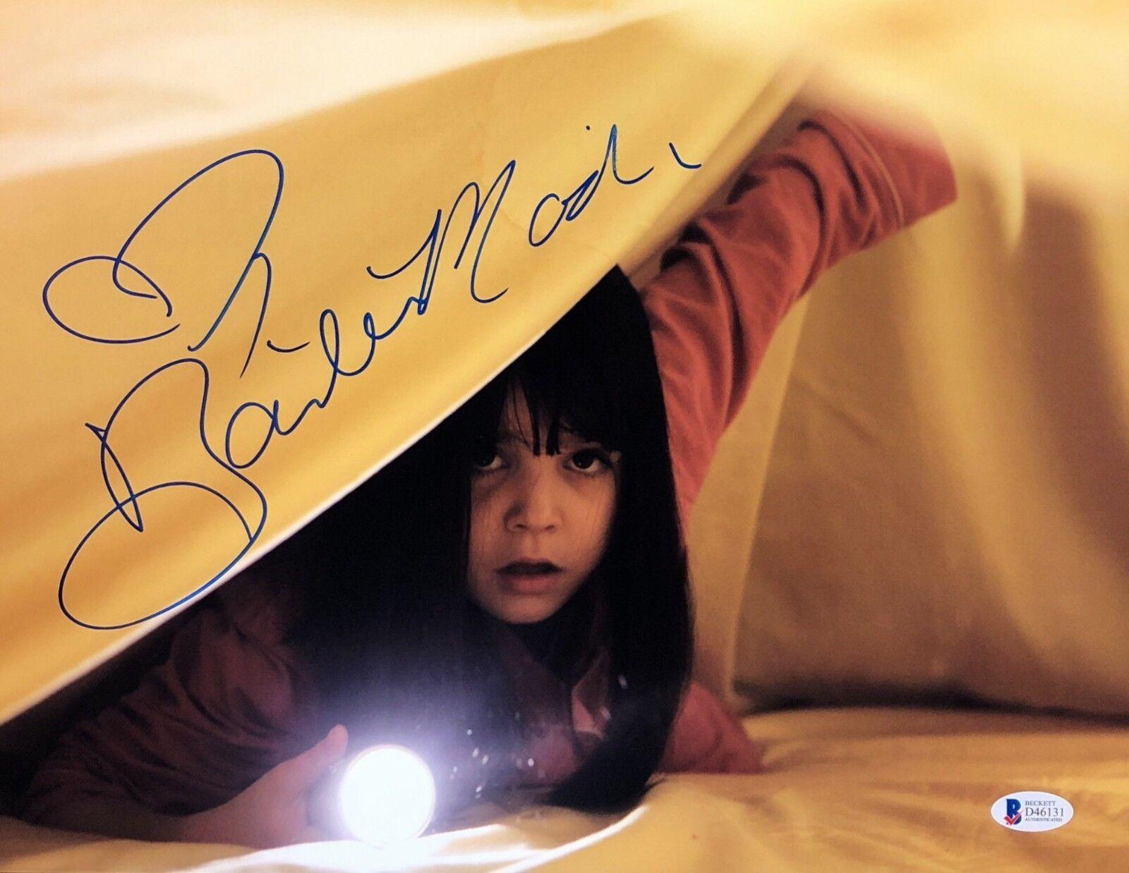 Bailee Madison Signed 11x14 Photo *Actress Beckett BAS D46131