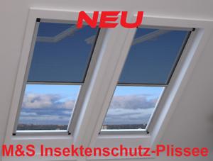 Fliegengitter Rollo Dachfenster.Details Zu Insektenschutz Plissee Fliegengitter Rollo Deluxe Pro Für Fenster U Dachfenster