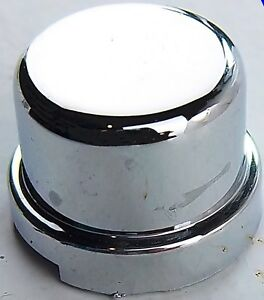 "10 nut covers 5//8/"" flat top hat chrome plastic 1/"" tall Freightliner Kenworth PB"